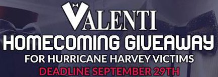 2017 Valenti Homecoming Giveaway