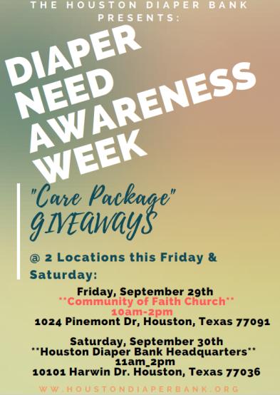 Diaper Awareness Week