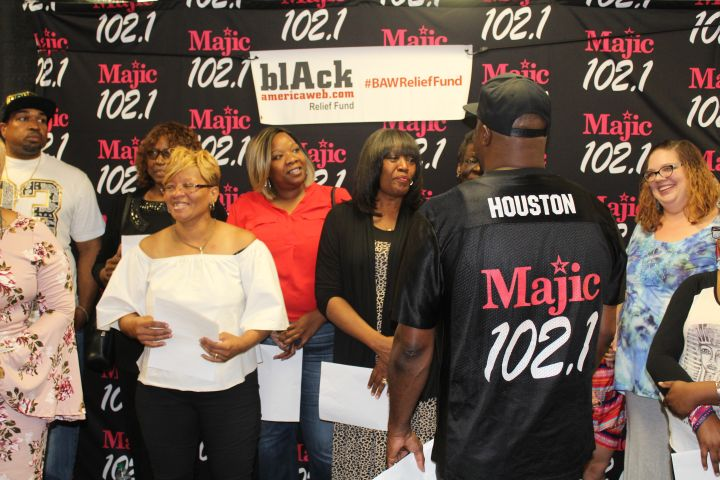 Black American Web Relief Fund 50K Giveaway Recap