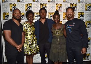 Chadwick Boseman And Lupita Nyong O Explain Their Magnetic Chemistry In Black Panther Majic 102 1