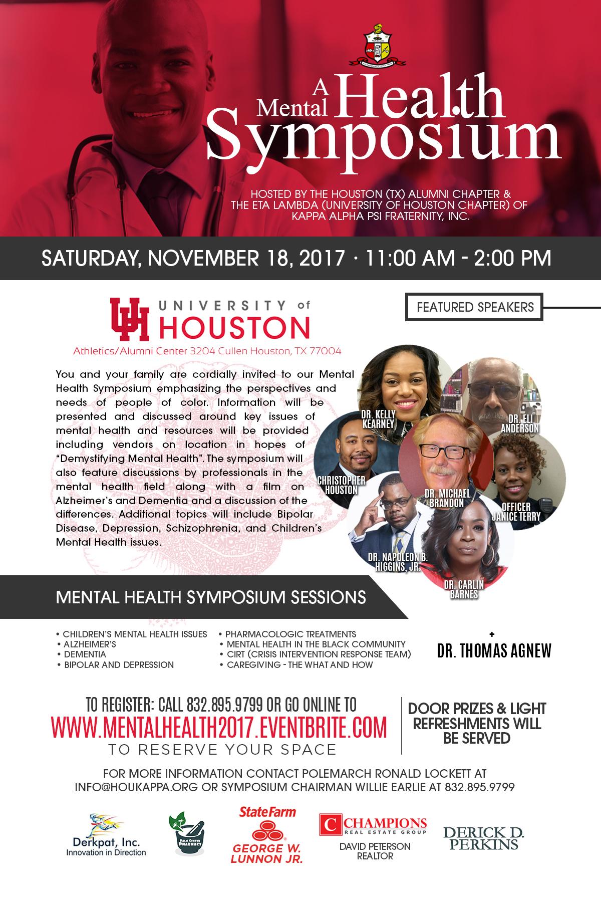 2017 Kappa Alpha Psi Mental Health Symposium
