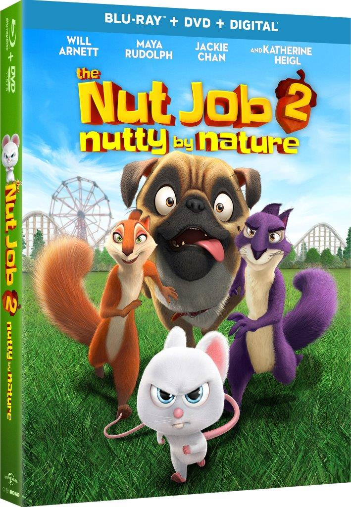 2017 The Nut Job 2: Nutty by Nature DVD