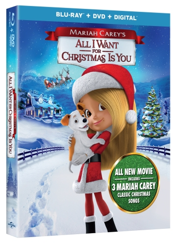 2017 Mariah Carey's All I Want For Christmas Is You Blu-Ray
