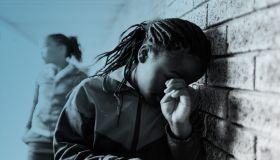 Black Girl Crying