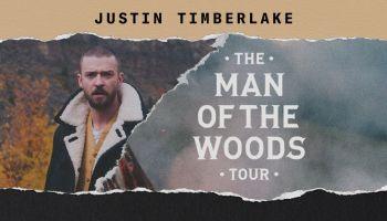 Justin Timberlake Man Of The Woods Tour