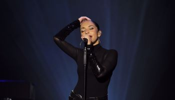 Adu, Sade - Singer, Soul/R&B, UK/Nigeria - performing in Cologne, Germany, Lanxess Arena (Koelnarena)