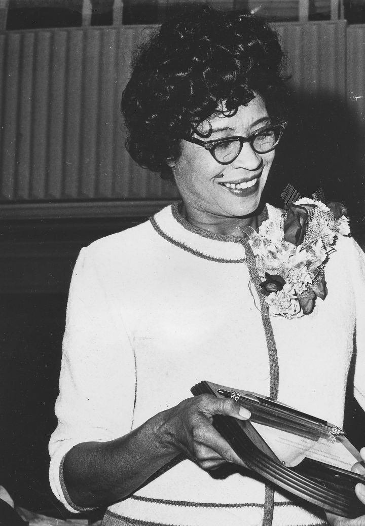 Daisy Bates Receiving An Award