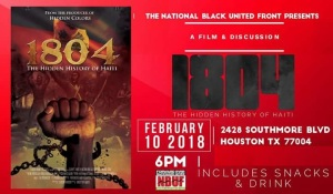 2018 National Black United Front 1804 Film Discussion