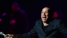 Smokey Robinson performs onstage at Au-Rene Theater