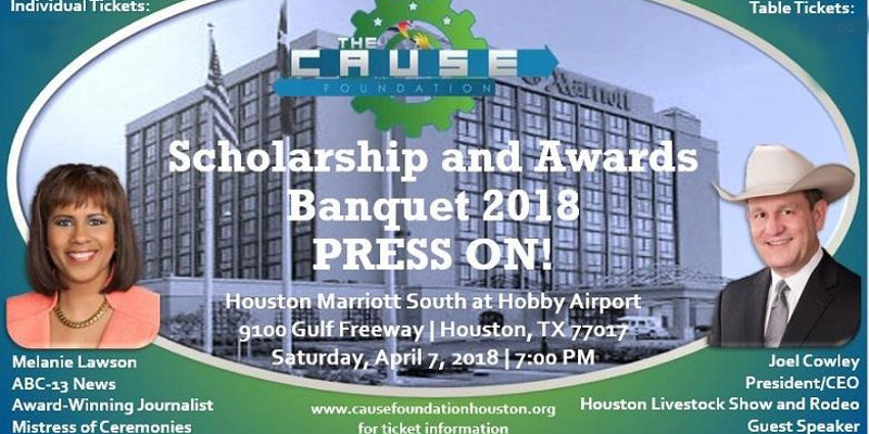 CAUSE Foundation Scholarship Banquet 2018