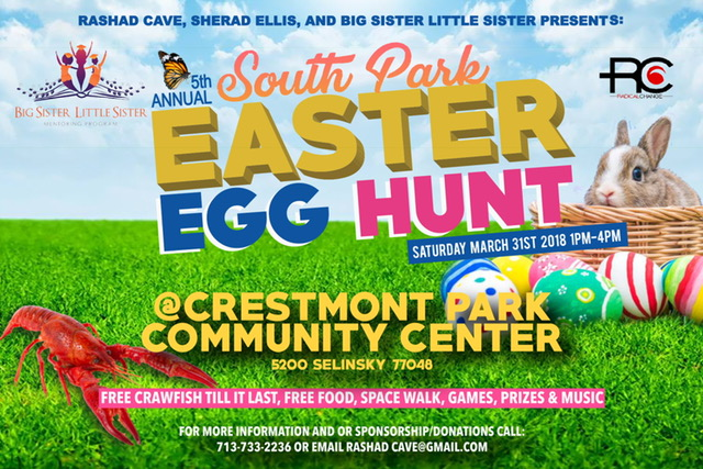 5th Annual South Park Easter Egg Hunt