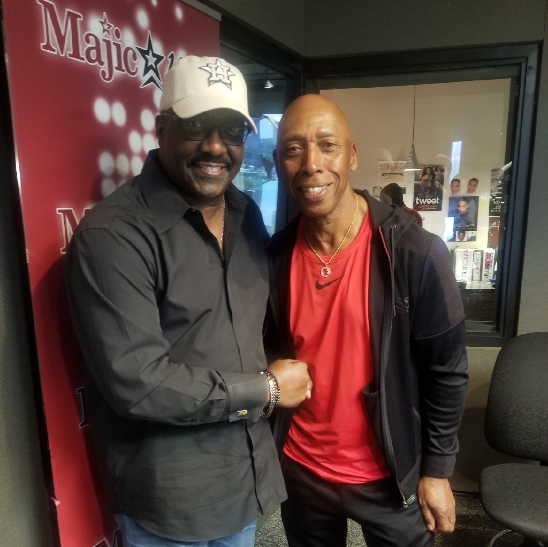 Jeffrey Osborne and Funky Larry Jones