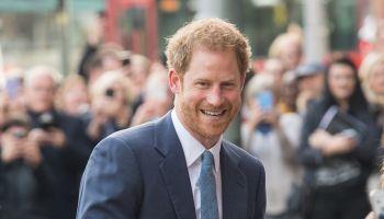 Prince Harry Visits Nottingham