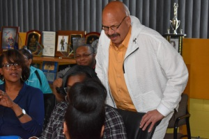 Tom Joyner Meet & Greet