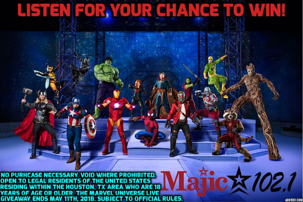 2018 Marvel Universe Live!