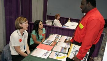 Job fair and career event exhibitor at the Miami Beach Convention Center