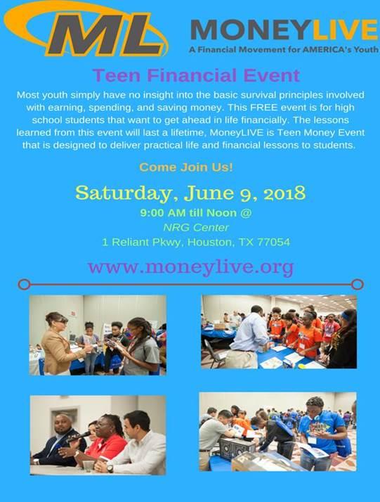 Money Live Teen Financial Event