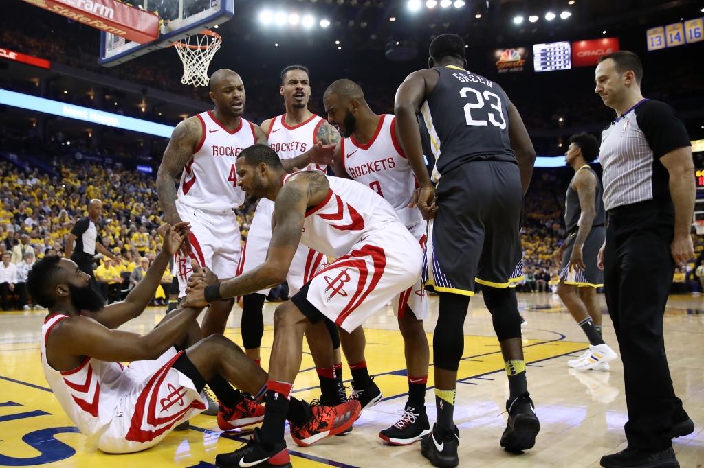 Houston Rockets v Golden State Warriors - Game Four
