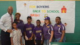 Dwight Boykins Back To School Drive