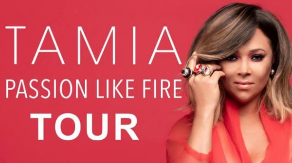 2018 Tamia Passion Like Fire Tour