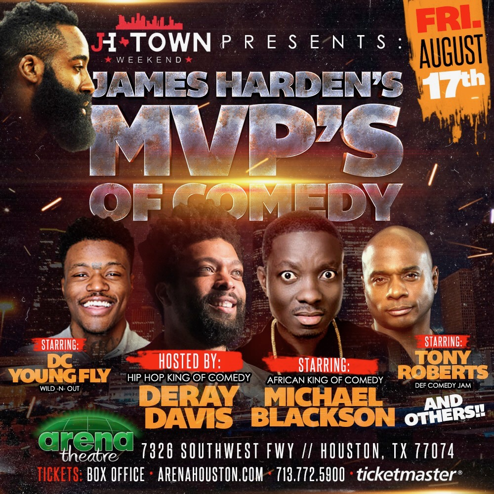 James Harden MVP's Of Comedy Show