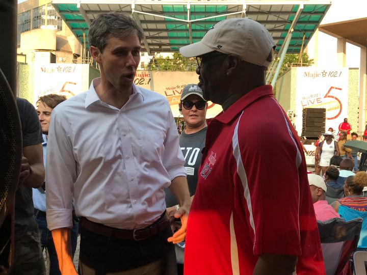 Beto O'Rourke and Uncle Funky Larry Jones