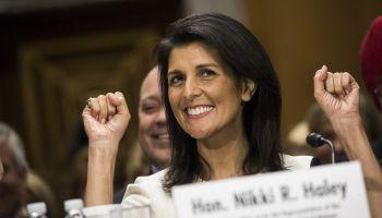 Confirmation Hearing for Trumps Nominee for Representative to the UN, Gov. Nikki Haley