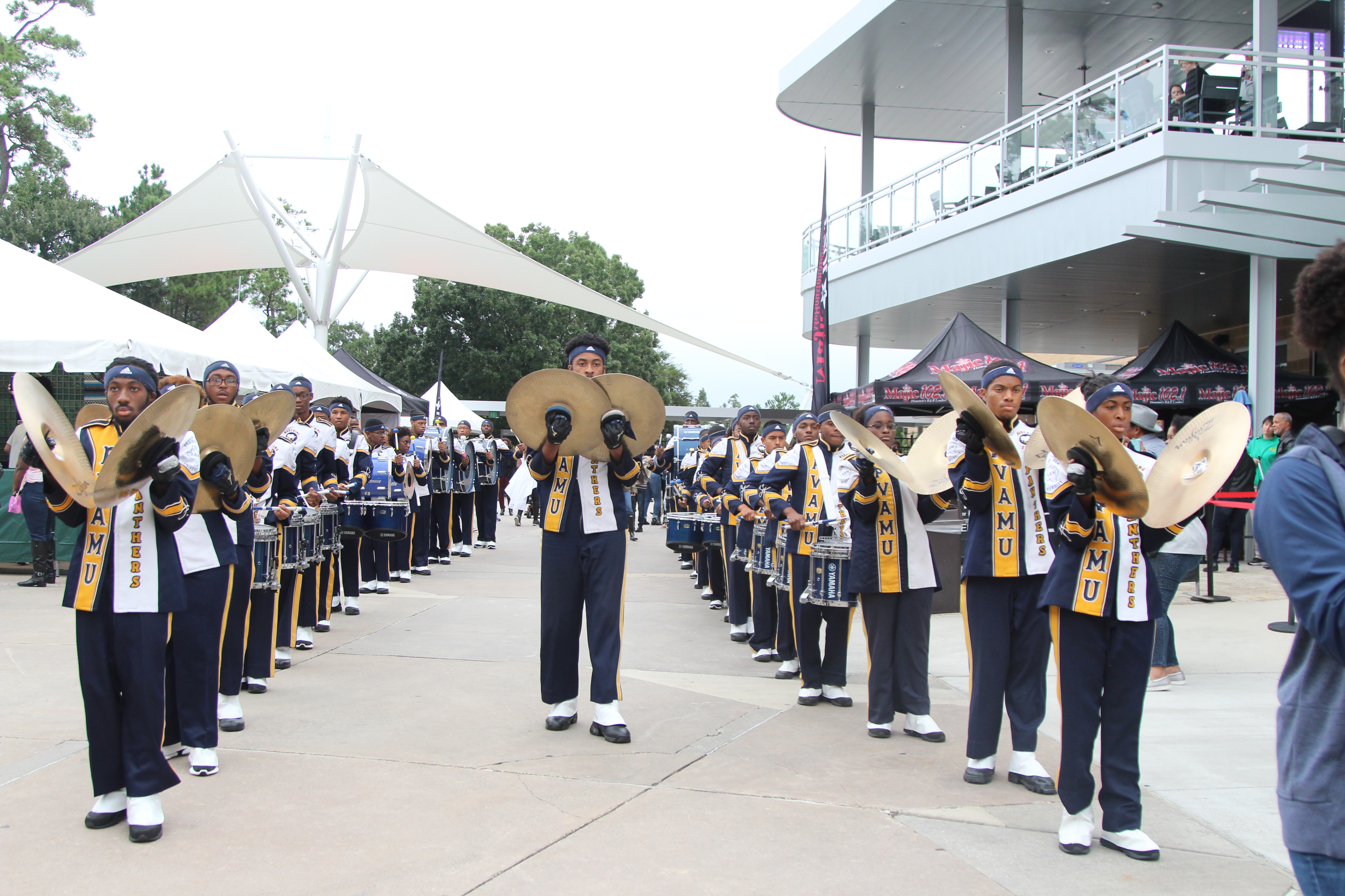 Prairie View A&M Marching Storm - Majic Under The Stars 2018