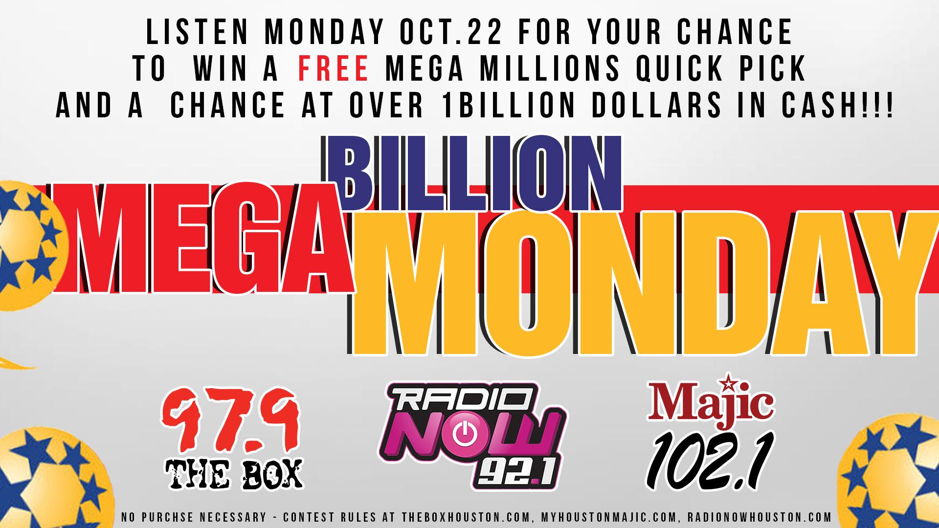 Mega Billons Monday