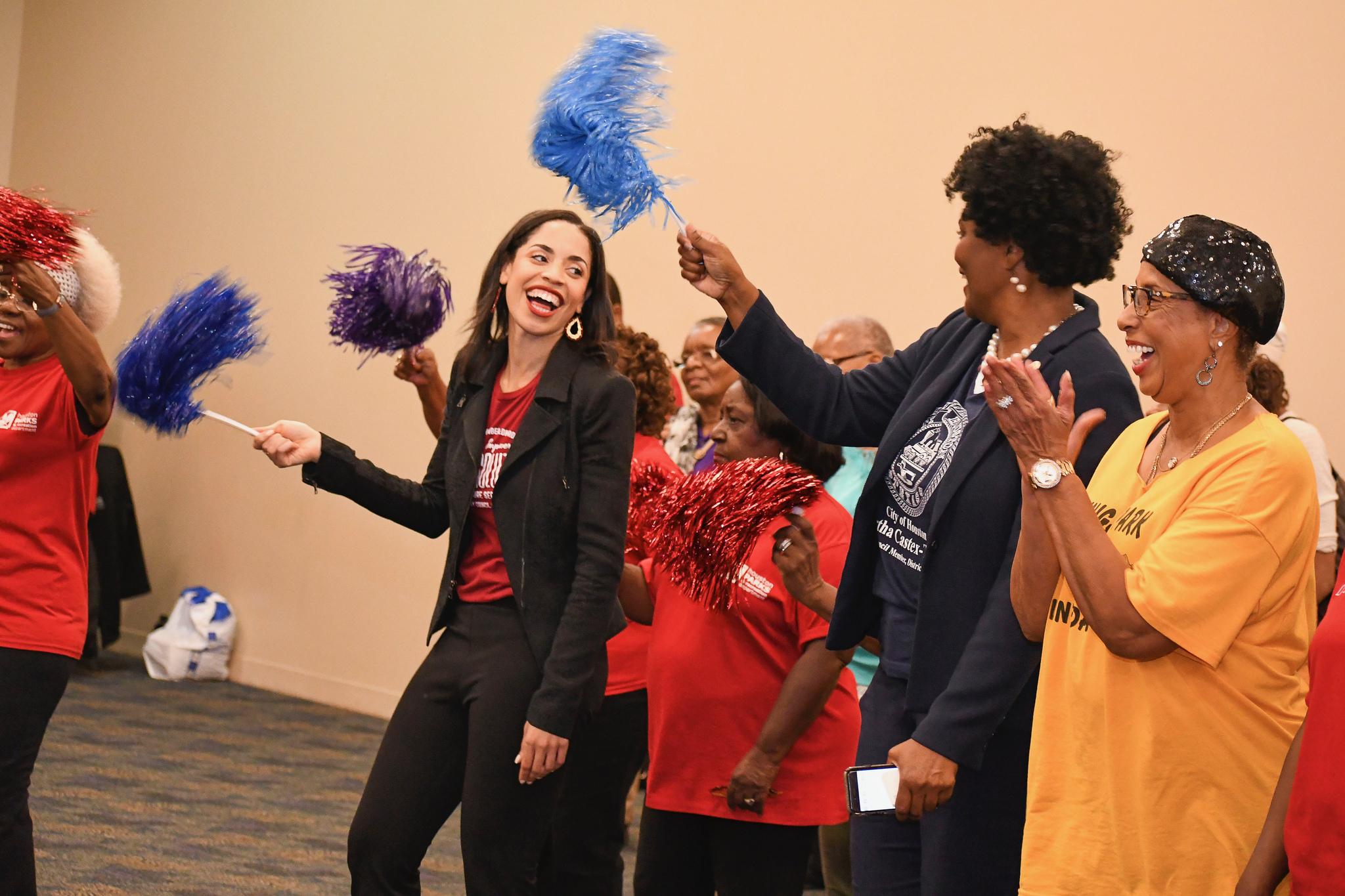 Amanda Edwards Senior Citizens Conference