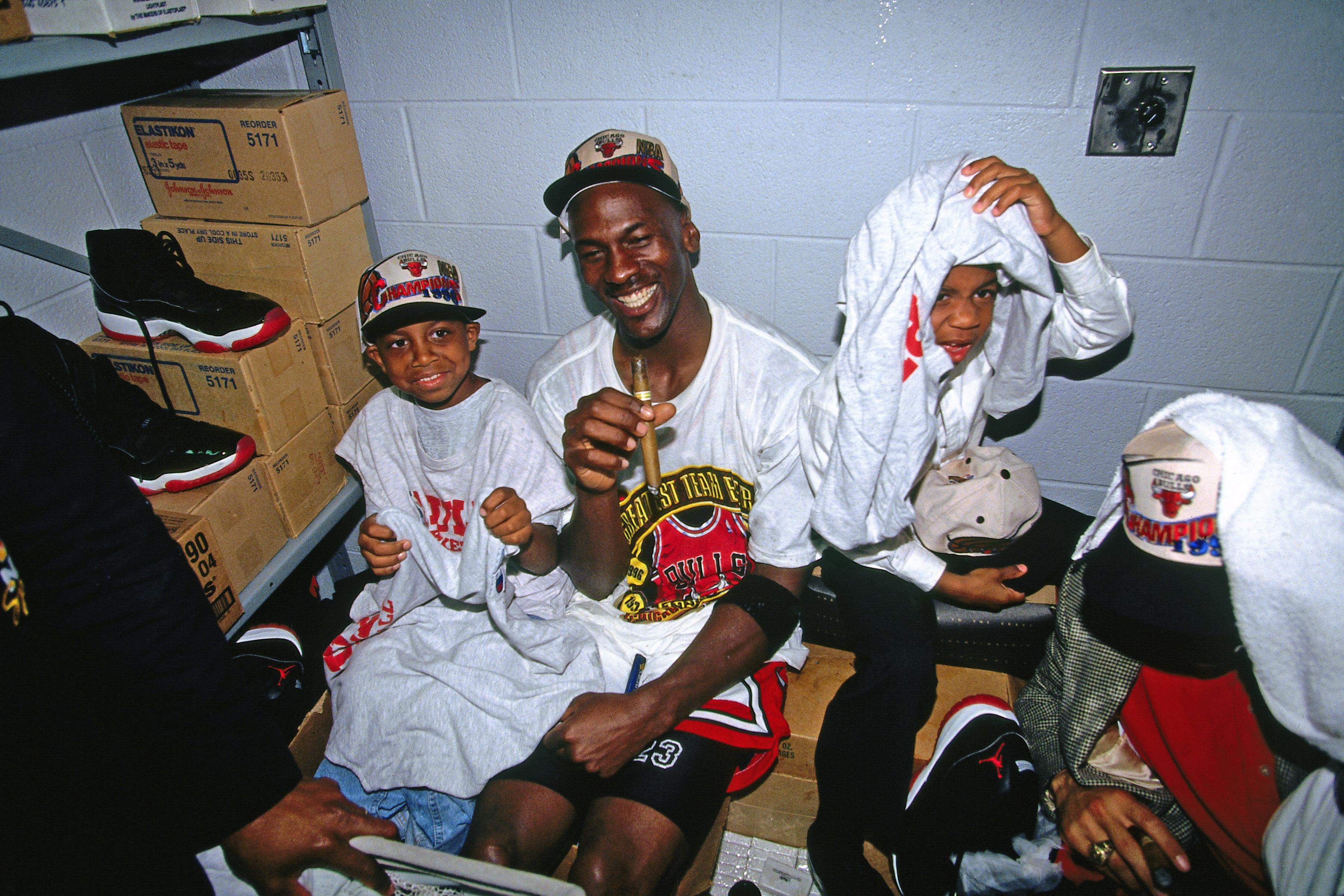 1996 NBA Finals - Game Six: Seattle Supersonics v Chicago Bulls