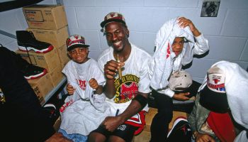 1996 NBA Finals - Game Six: Seattle Supersonics v Chicago Bulls