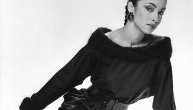 British singer songwriter Sade Adu, lead singer of the