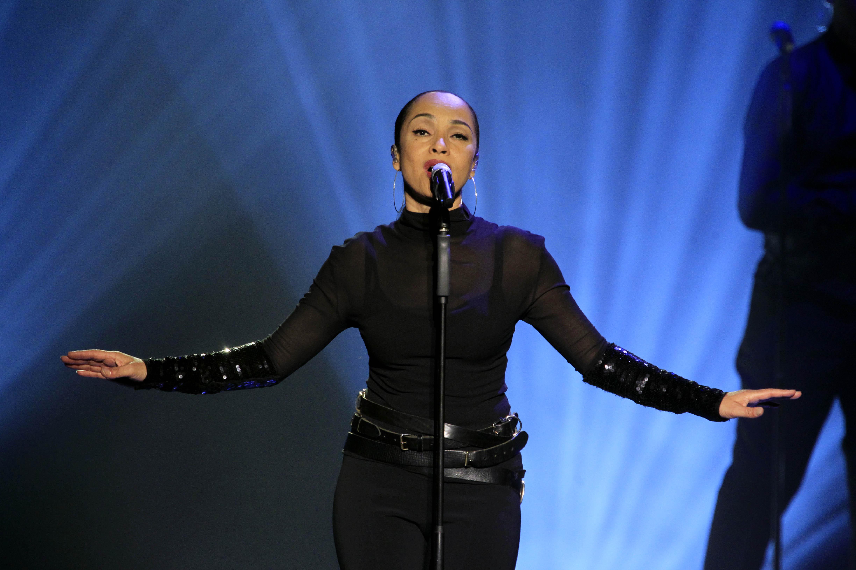 Adu, Sade - Singer, Soul/R&B, UK/Nigeria - performing in Oberhausen, Germany, Arena