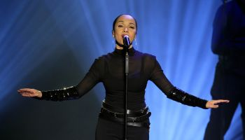 Adu, Sade - Singer, Soul/R&B, UK/Nigeria - performing in Oberhausen, Germany, Arena