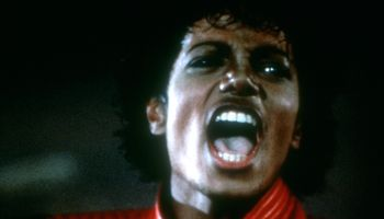Michael Jackson Thriller Video Shoot
