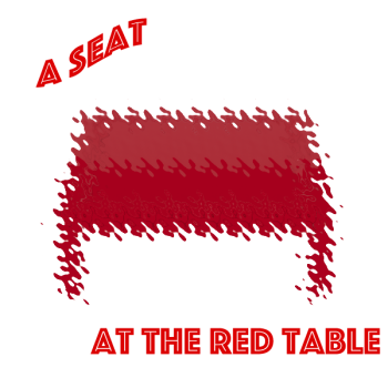 A Seat At The Red Table Logo