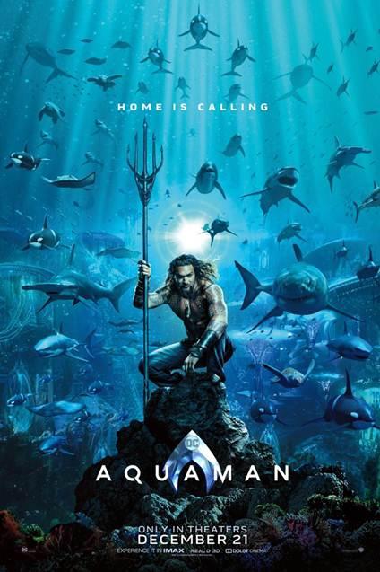 Aquaman Promotional Poster