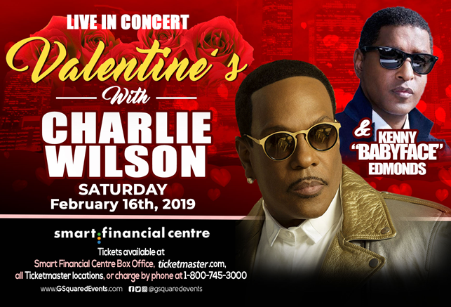"Valentine's With Charlie Wilson & Kenneth ""Babyface"" Edmonds"