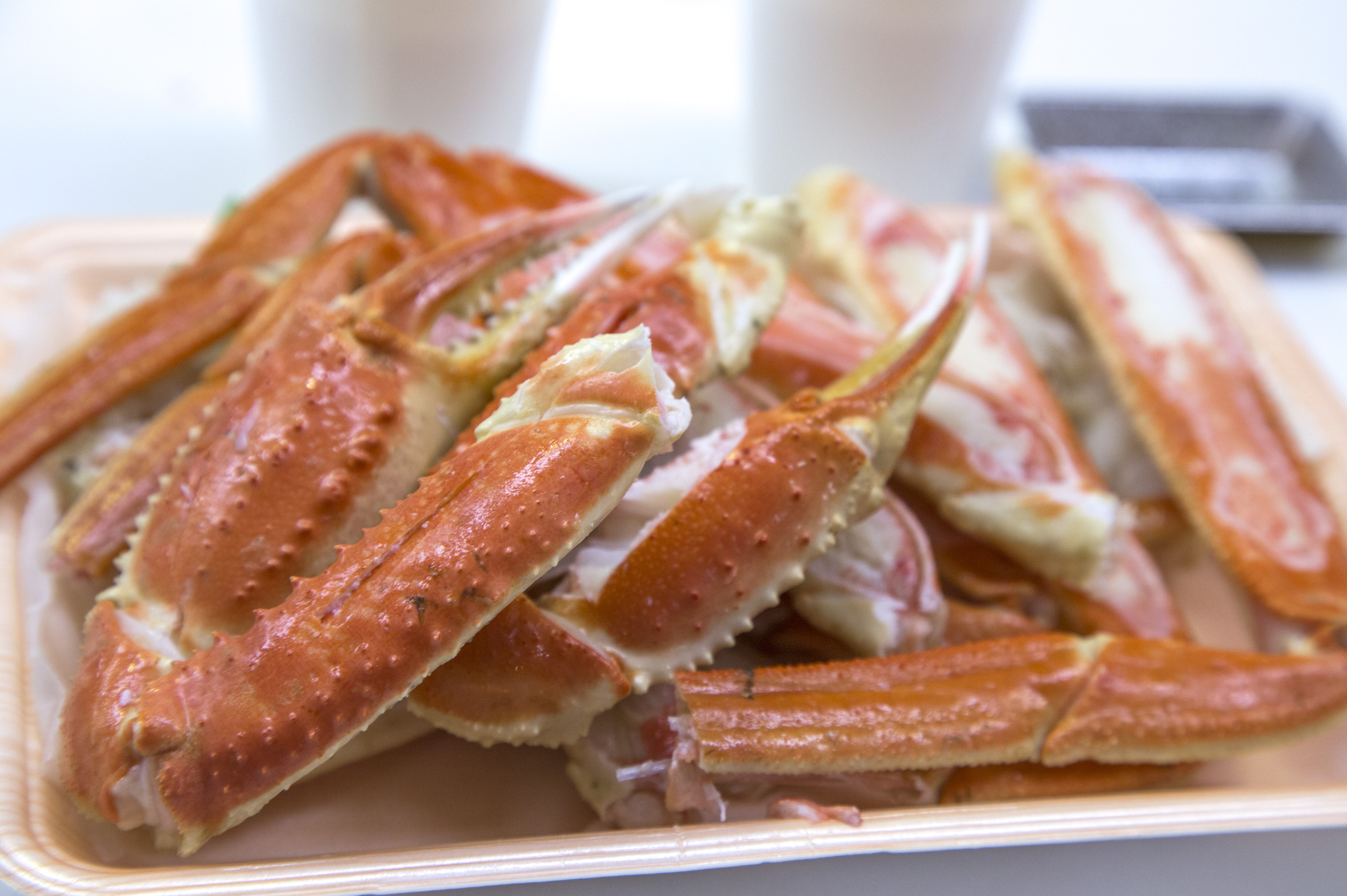 Crab legs, Osaka Prefecture, Japan, Asia,