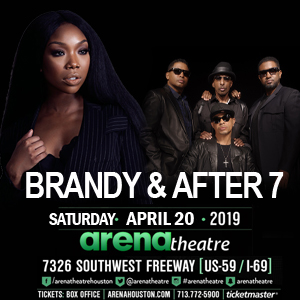 Brandy & After 7 at Arena Theatre