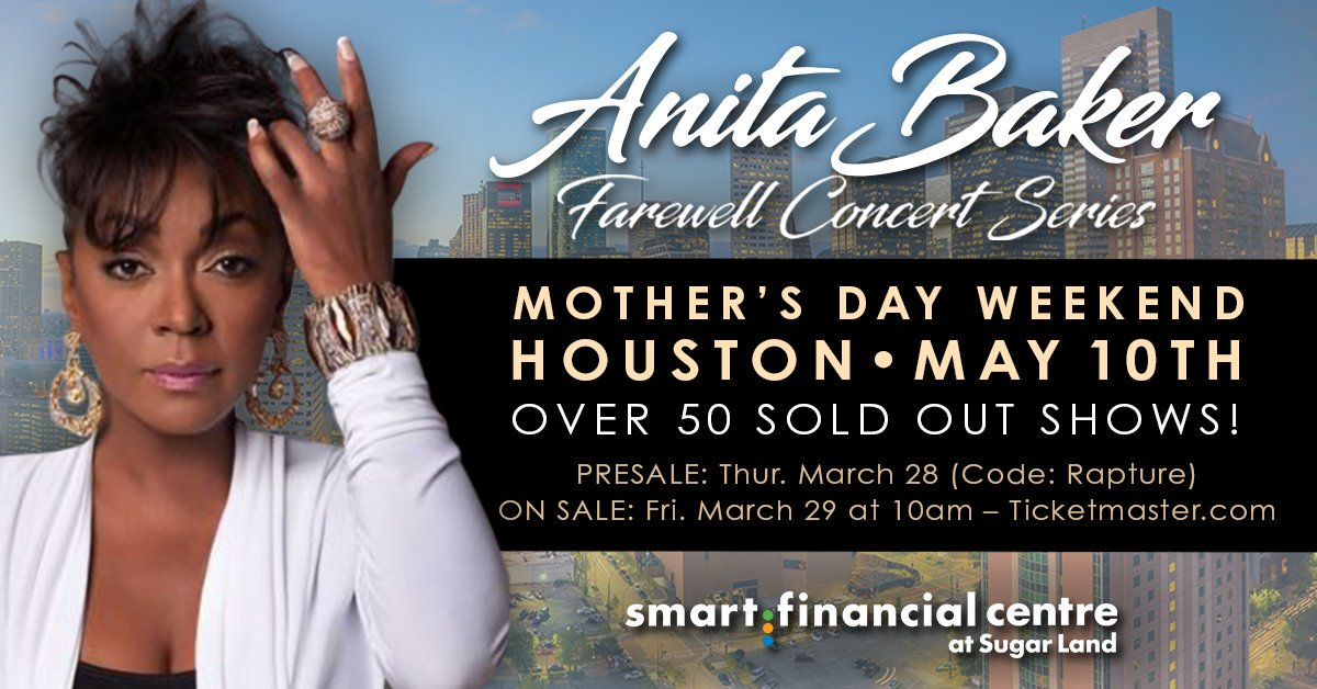 Anita Baker Smart Financial Centre