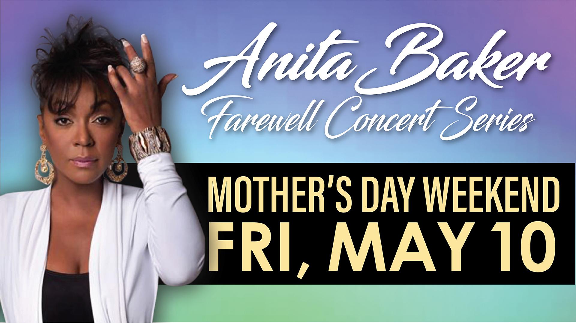 Anita Baker Farewell Concert Series