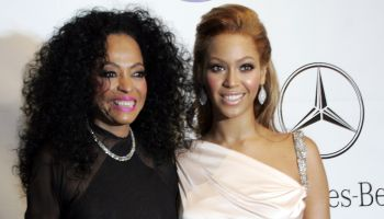 Diana Ross with Beyonce in the VIP reception during the 16th Annual Carousel of Hope Gala at the Bev