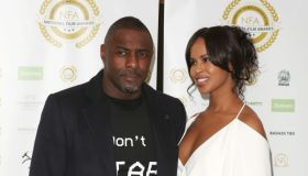 Idris Elba and Sabrina Dhowre attend the National Film...