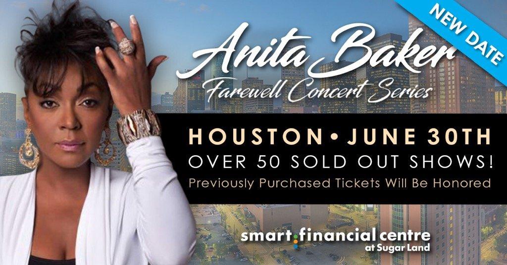 Anita Baker Farewell Concert Houston