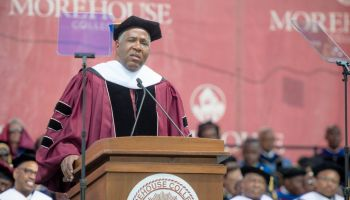 Angela Bassett Receives And Honorary Degree During The Morehouse College 135th Commencement