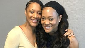 Robin Givens and Queen Indy Bee