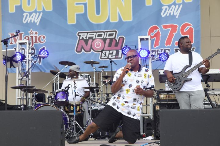 Marvin Gaye Tribute - Fit Family Fun Day 2019