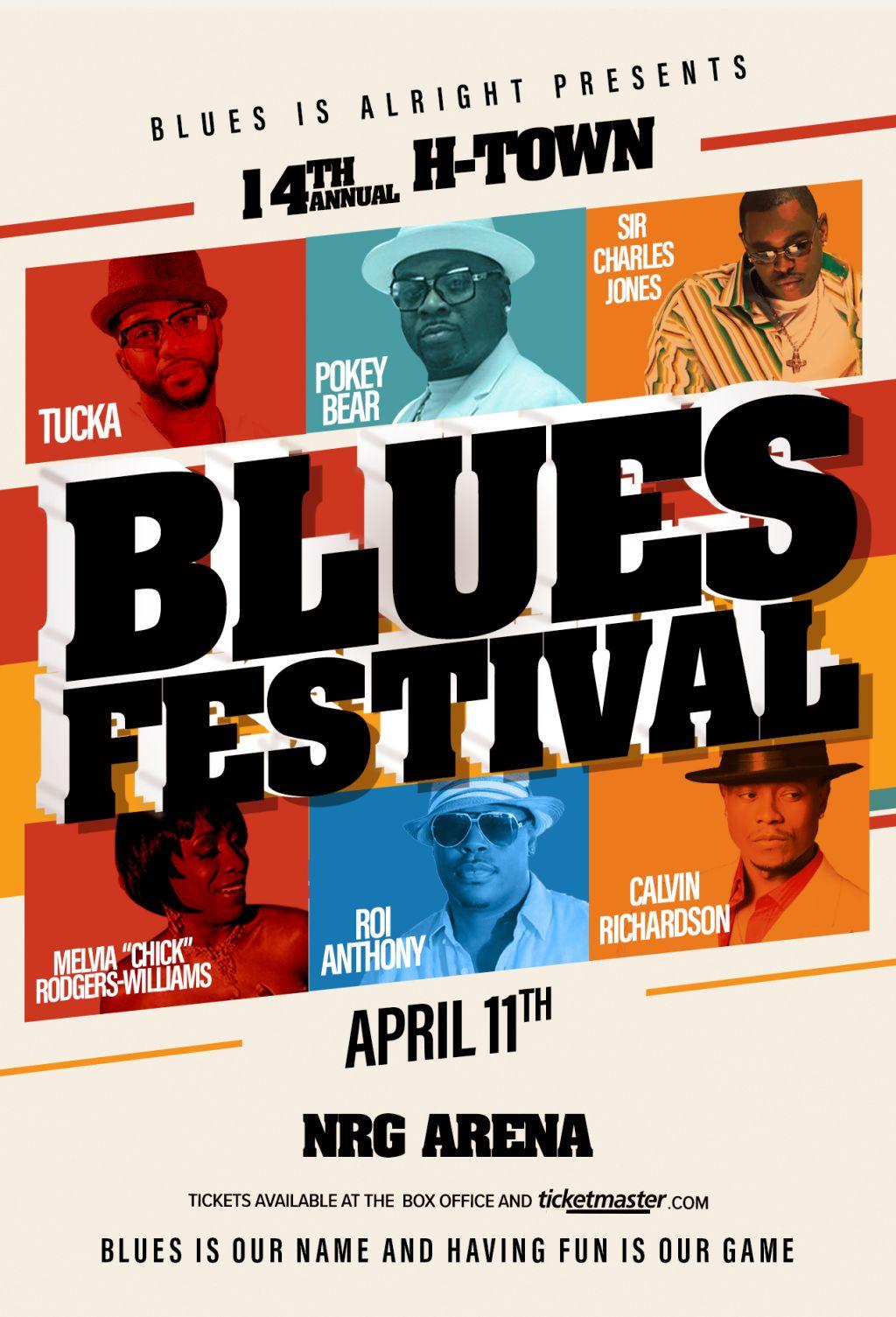 14th H-Town Blues Festival